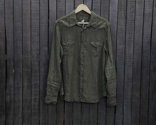 AUTHENTIC LINEN GREEN