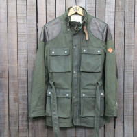 HOKAIDO 003 - CHERA 12/LEATHER -GREEN/BROWN